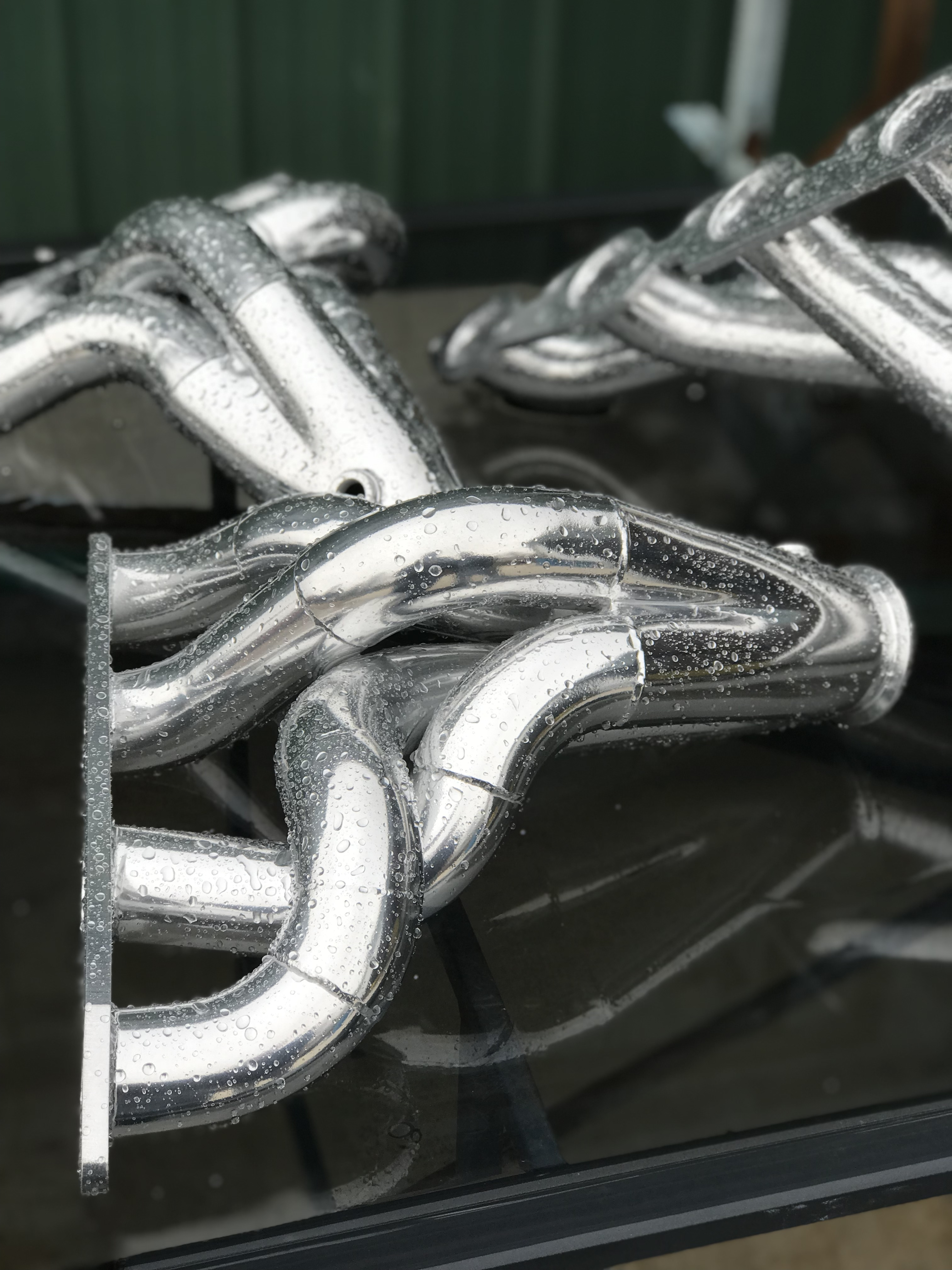Chrome Shorty Headers